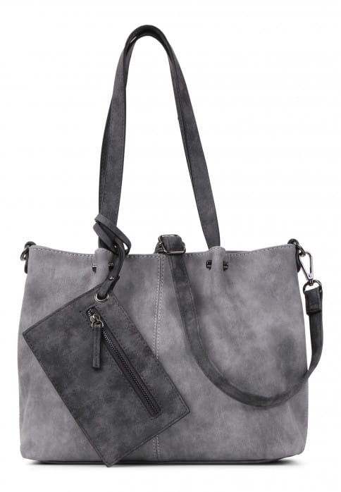 EMILY & NOAH Shopper Bag in Bag Surprise Grau 299808-1790 grey darkgrey 808