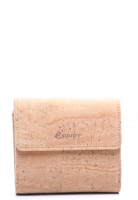 Esquire Damenbörse KORK Beige 12144005 natur 05