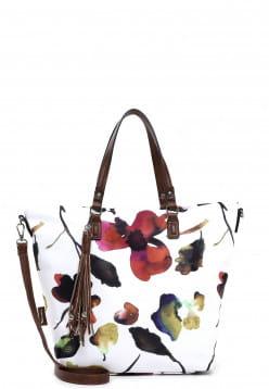 Tamaris Shopper Charlotte groß Weiß 31065300 white 300
