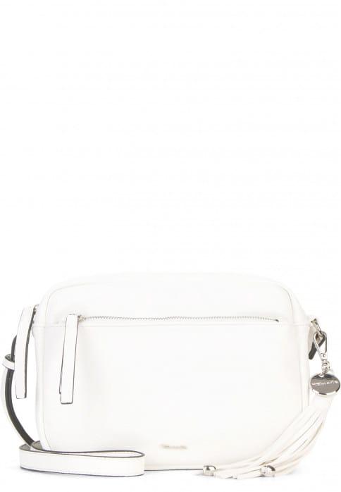 Tamaris Handtasche mit Reißverschluss Adele mittel Weiß 30473300 white 300