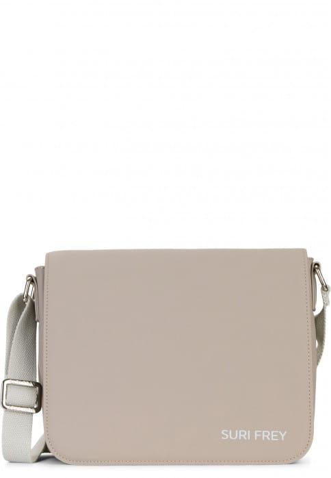 SURI FREY Handtasche mit Überschlag SURI Sports Jessy klein Braun 18000900 taupe 900
