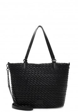Tamaris Shopper Damiana mittel Schwarz 31293100 black 100