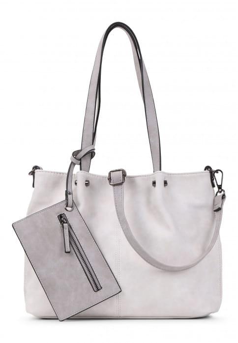 EMILY & NOAH Shopper Bag in Bag Surprise Beige 299328 ecru lightgrey 328