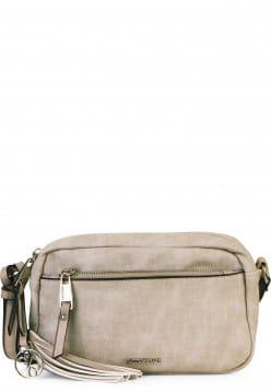 EMILY & NOAH Handtasche mit Reißverschluss Laura klein Grau 62000810 lightgrey 810