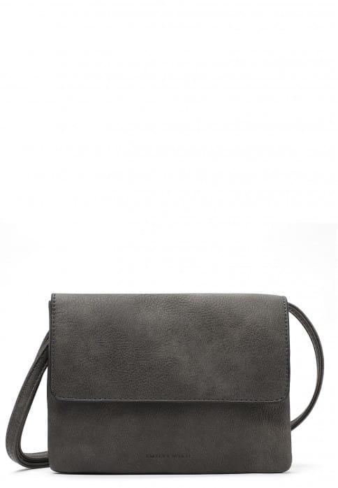 EMILY & NOAH Handtasche mit Überschlag Emma mittel Grau 61722800 grey 800