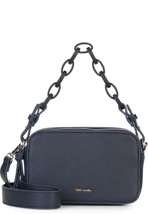 Tamaris Handtasche mit Reißverschluss Angela klein Blau 30210500 blue 500