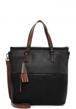SURI FREY Shopper Dorey groß Schwarz 13055100 black 100