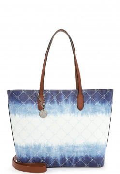 Tamaris Shopper Anastasia Batic groß Weiß 30914305 white/blue 305