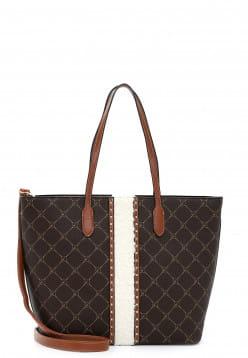 Tamaris Shopper Anastasia Teddy mittel Braun 31423207 brown/cognac 207