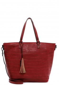 Tamaris Shopper Barbara groß Rot 30753600 red 600