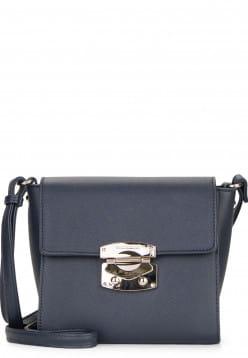 EMILY & NOAH Handtasche mit Überschlag Luca klein Blau 62180500 blue 500