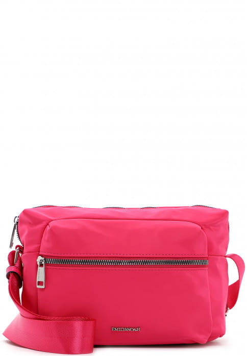 EMILY & NOAH Umhängetasche Suza-Nylon groß Pink 61944670 pink 670
