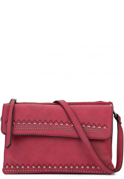 EMILY & NOAH Handtasche mit Reißverschluss Siggi Rot 61890690 wine 690