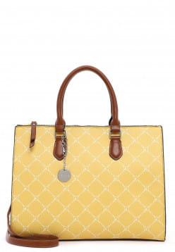 Tamaris Shopper Anastasia groß Gelb 30709460 yellow 460