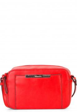 Tamaris Handtasche mit Reißverschluss Adriane klein Rot 30140600 red 600