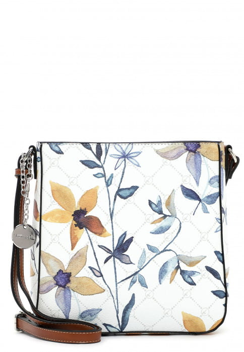 Tamaris Umhängetasche Anastasia Flower groß Weiß 30920399 white flower 399