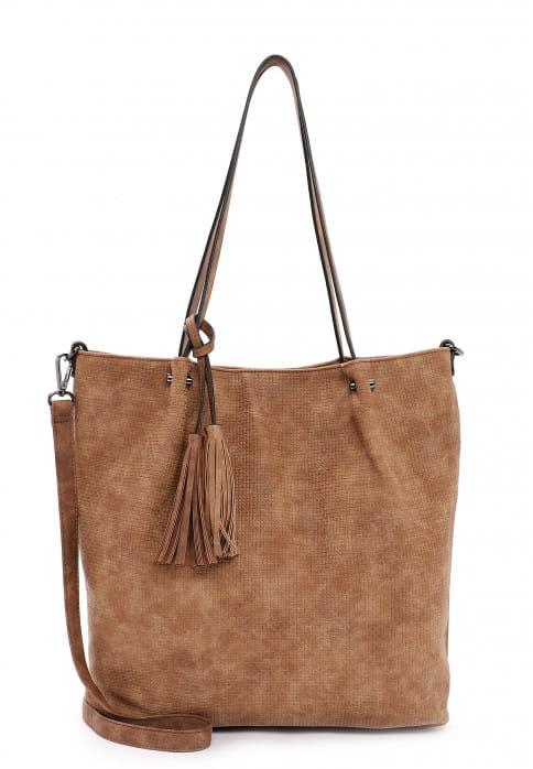 EMILY & NOAH Shopper Bag in Bag Surprise groß Braun 331700 cognac 700