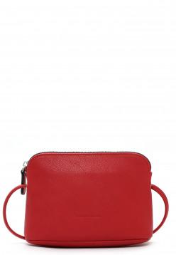 EMILY & NOAH Handtasche mit Reißverschluss Emma Rot 60393600F-1790 red 600D