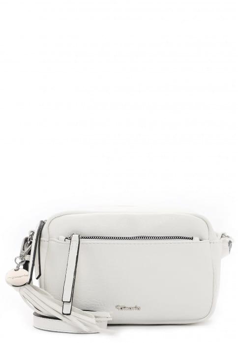 Tamaris Handtasche mit Reißverschluss Adele klein Weiß 30472300 white 300