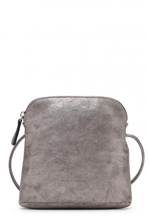 EMILY & NOAH Handtasche mit Reißverschluss Emma Silber 60394833 darksilver 833