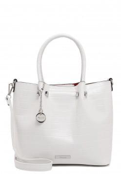 Tamaris Shopper Christiane mittel Weiß 31050300 white 300