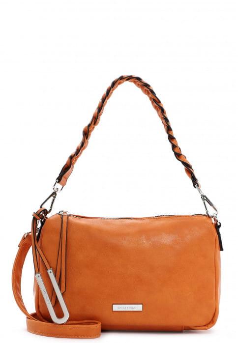 EMILY & NOAH Umhängetasche Erna groß Orange 62882610 orange 610