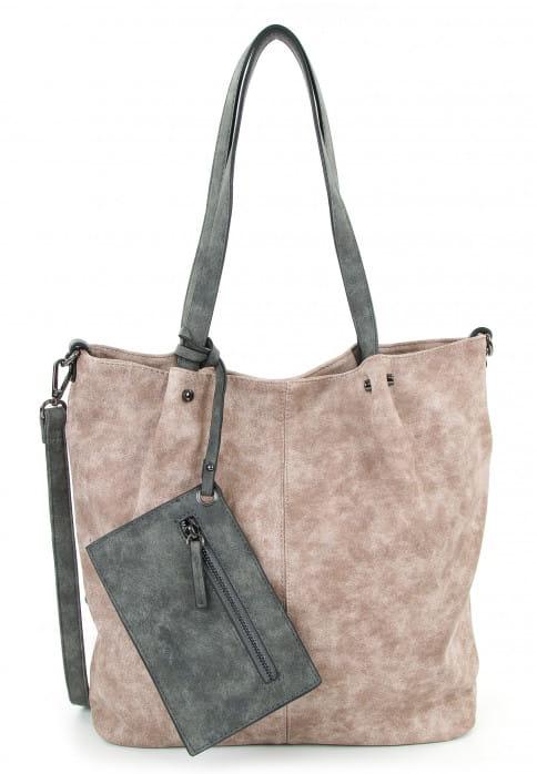 EMILY & NOAH Shopper Bag in Bag Surprise Pink 300658-1790 rose l grey 658