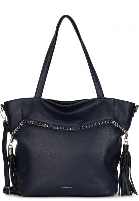 EMILY & NOAH Shopper Larissa groß Blau 62102500 blue 500