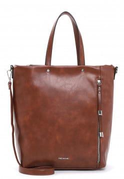 EMILY & NOAH Shopper Elif groß Braun 62786700 cognac 700