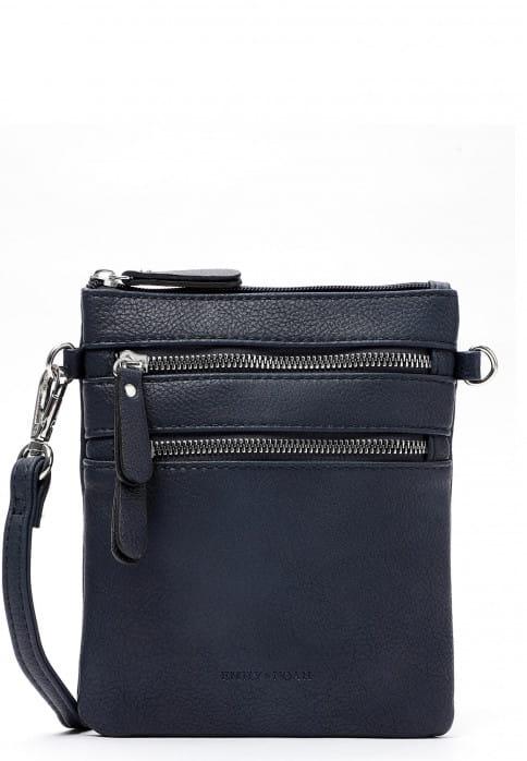 EMILY & NOAH Handtasche mit Reißverschluss Emma Blau 60392500F-1790 blue 500F