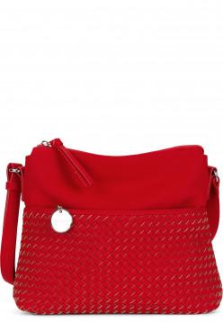 Tamaris Handtasche mit Reißverschluss Amber mittel Rot 30431600 red 600