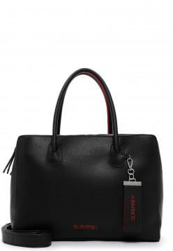 SURI FREY Businesstasche Philly groß Schwarz 12681106 black/red 106