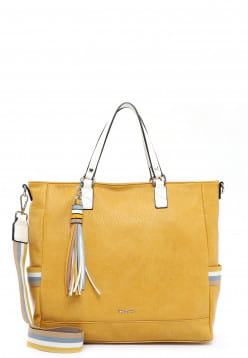 Tamaris Shopper Christa groß Gelb 31123460 yellow 460