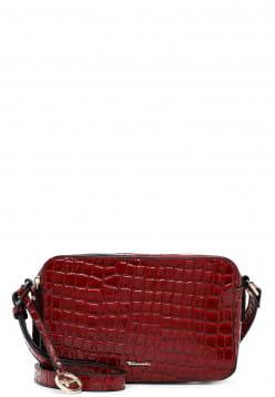 Tamaris Umhängetasche Diana mittel Rot 31211689 red-kroko 689