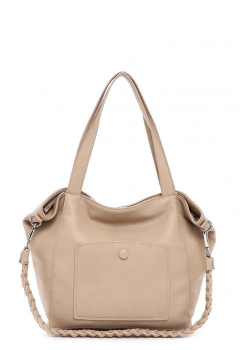 EMILY & NOAH Shopper Fiorella groß Beige 62945420 sand 420
