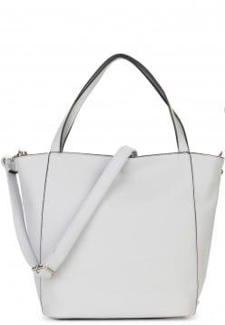 Sina Jo Shopper Jessica groß Grau 714810 lightgrey 810