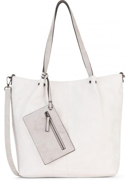 EMILY & NOAH Shopper Bag in Bag Surprise Beige 300328 ecru lightgrey 328