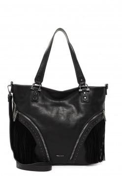 Tamaris Shopper Denice mittel Schwarz 31235100 black 100