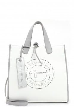 Tamaris Shopper Celine mittel Weiß 30973300 white 300