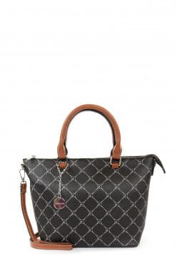 Tamaris Shopper Anastasia groß Schwarz ML1002100 black 100