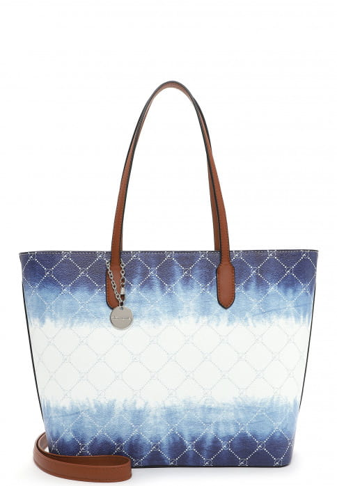 Tamaris Shopper Anastasia Batic groß Weiß 30914305 white/blue 305