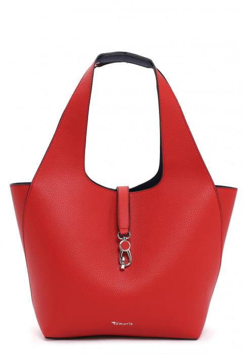 Tamaris Shopper Cordula groß Rot 31130605 red royal 605