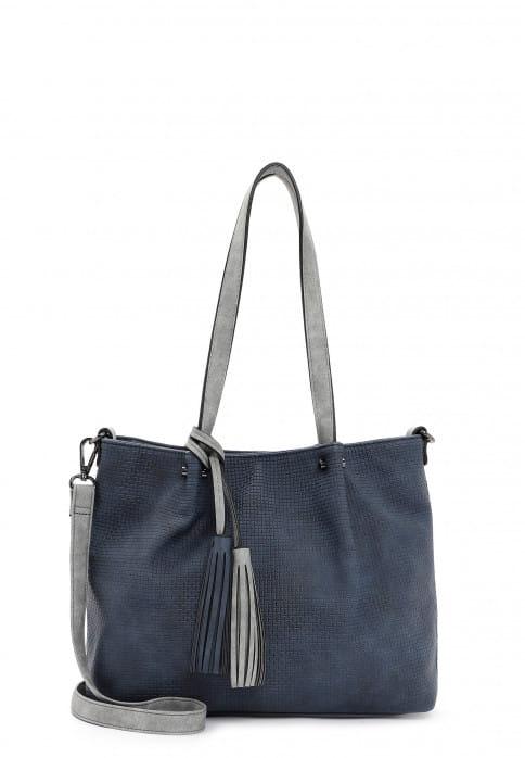 EMILY & NOAH Shopper Bag in Bag Surprise klein Blau 330508 blue grey 508