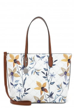 Tamaris Shopper Anastasia Flower groß Weiß 30924399 white flower 399