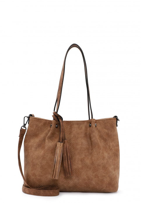 EMILY & NOAH Shopper Bag in Bag Surprise klein Braun 330700 cognac 700